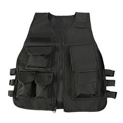 Children Tactical Vest Nylon Shooting Hunting Molle Clothes