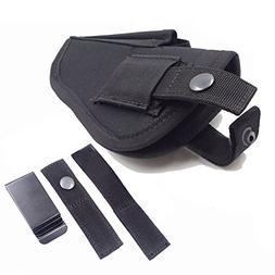 Thiroom Tactical Waistband Nylon Black Holster Waist Belt Ha