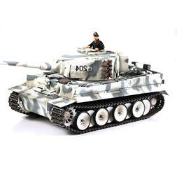 VS Tanks 1:24 Winter Camo German Tiger I RC Tank - This Toy
