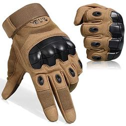 JIUSY Touch Screen Military Rubber Hard Knuckle Tactical Glo