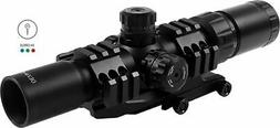 TRI-ILLUMINATED SCOPE WITH CANTILEVER MOUNT 1.5-4X30