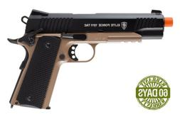 Umarex Elite Force 1911 TAC Blowback CO2 Airsoft Pistol, Bla