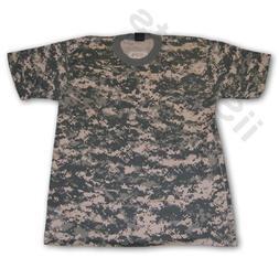 PCS Universal Digital Digi Camouflage Short Sleeve 100% Cott