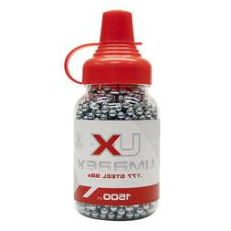 UMAREX .177 Cal / 4.5mm Precision 1500ct. Steel BBs for BB A