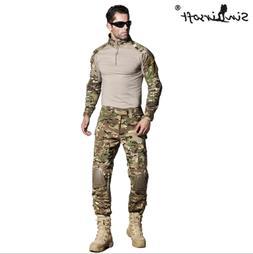 MC Tactical Combat Uniform Shirt Pants G3 Airsoft GEN3 Camo