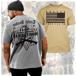 USMC Mortarman T-Shirt MOS 0341 Marine Corps Combat Veteran