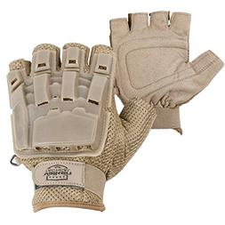 Valken V-Tac Half Finger Hard Back Paintball / Airsoft Glove