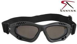 Rothco Ventec Tactical Goggles Black UV400 Anti-Fog Airsoft