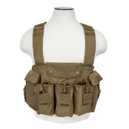 VISM by NcStar AK Chest Rig , Tan