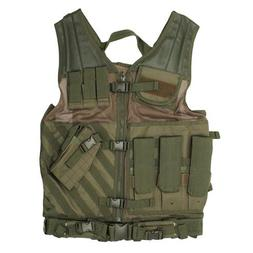 VISM by NcStar Tactical Vest, Green, XX-Large