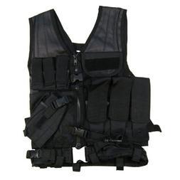 VISM by NcStar Tactical Vest, Black, Larger