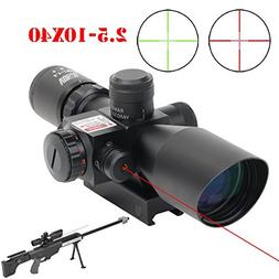 Vokul 2.5-10x40 Tactical Rifle Scope Dual Illuminated Scope