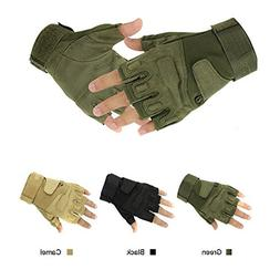 Wenseny - Military Half-finger Fingerless Tactical Airsoft H