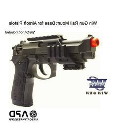 WG Win Gun Pistol Base Mount Attachment RIS Airsoft GBB Rail