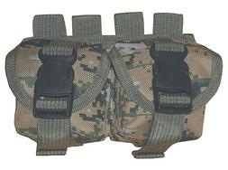 Woodland Digital Camouflage MOLLE Hand Grenade Pouch